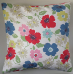 "Cushion Cover in Cath Kidston Paradise Fields and Multi Stripe 14"" 16"" 18"" 20"""